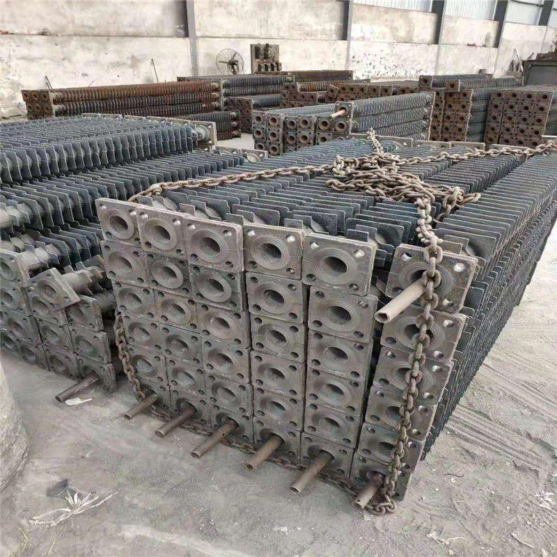炉排片-锅炉炉排-锅炉风帽-省煤器管-链条炉排厂-山东卜秀锅炉配件铸造厂